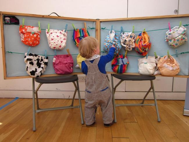 Change Works in Peebles hope parents will choose reusable nappies