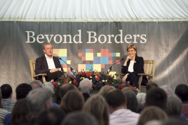 Nicola Sturgeon is set to appear at Beyond Borders