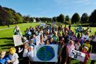 WATCH: Climate change protest comes to Peebles