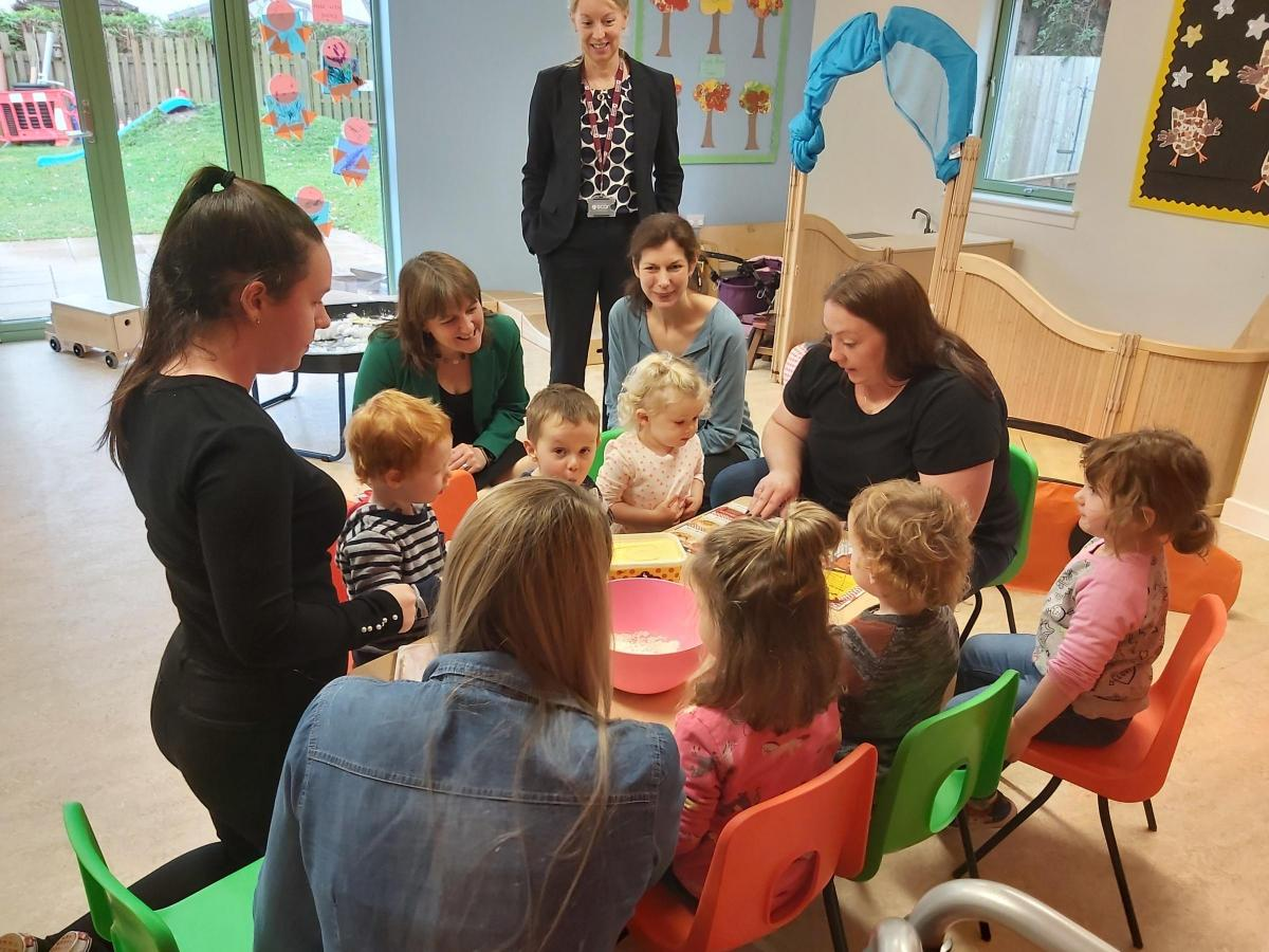 West Linton S Village Nursery Recognised For Mentoring