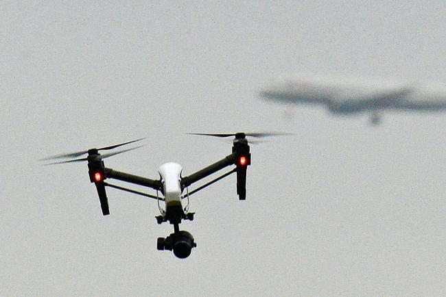 Drone near-miss for passenger plane above the Borders