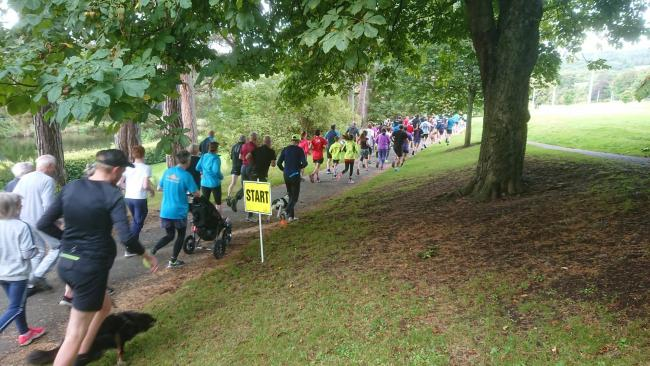 The Haylodge Parkrun has been a huge success