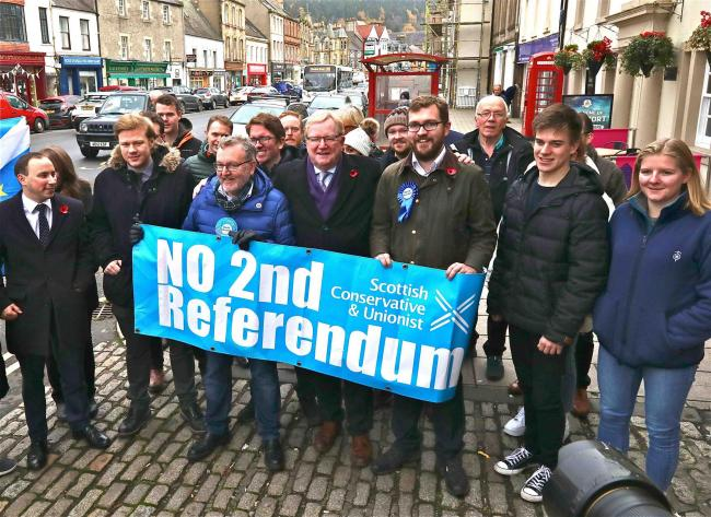 David Mundell's campaign launch in Peebles