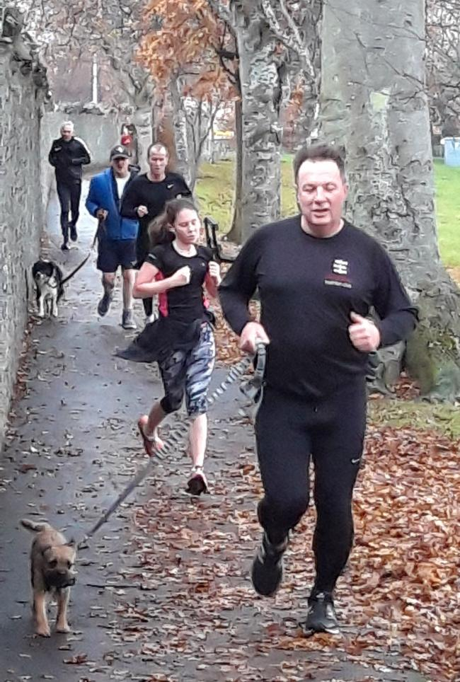 Parkrun has been a huge success in Peebles