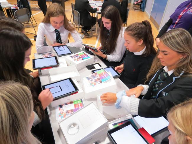 Earlston High pupils have helped their school reach the Sunday Time top 50