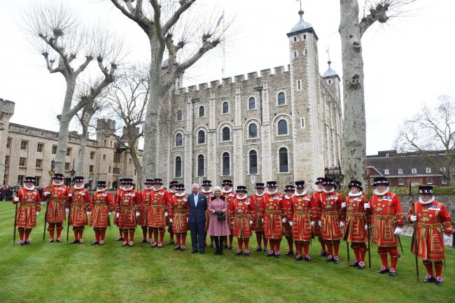 Royal visit to Tower of London