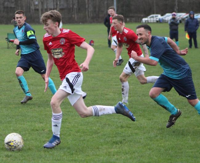 Gala Fairydean Rovers held Melrose to a draw. Photo: Debi Ritchie