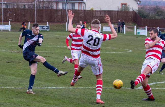 Civil held Bonnyrigg to a draw at New Dundas Park. Photo: Thomas Brown