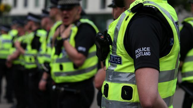 A man has been charged after vandalism in Galashiels