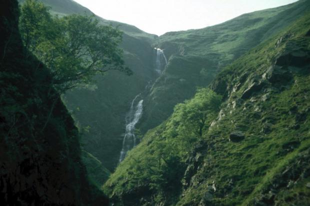 Peeblesshire News: Grey Mare's Tail. Picture: National Trust for Scotland