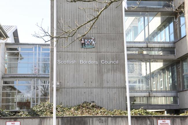 Scottish Borders Council's headquarters in Newtown St Boswells. Photo: Helen Barrington