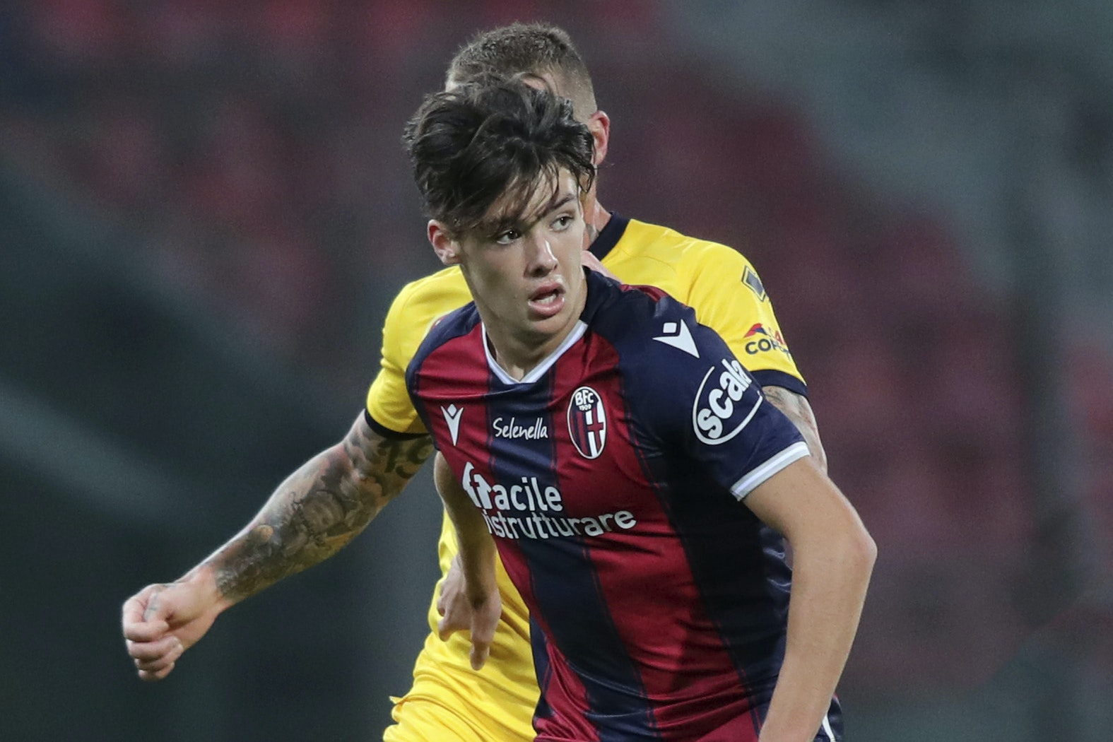 Sinisa Mihajlovic talks up Aaron Hickey after Scot makes successful Bologna bow | Peeblesshire News