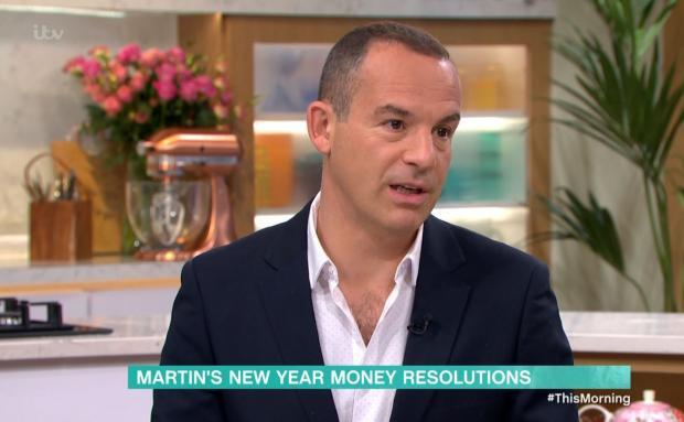 Peeblesshire News: Martin Lewis speaking on ITV's This Morning