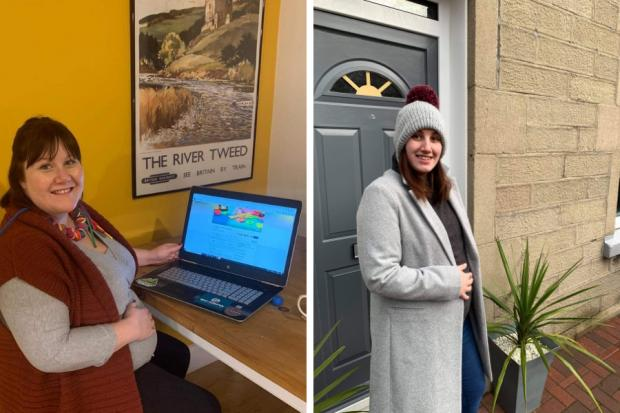 Karen Wilson and Louise Claire have set up online support groups for pregnant women