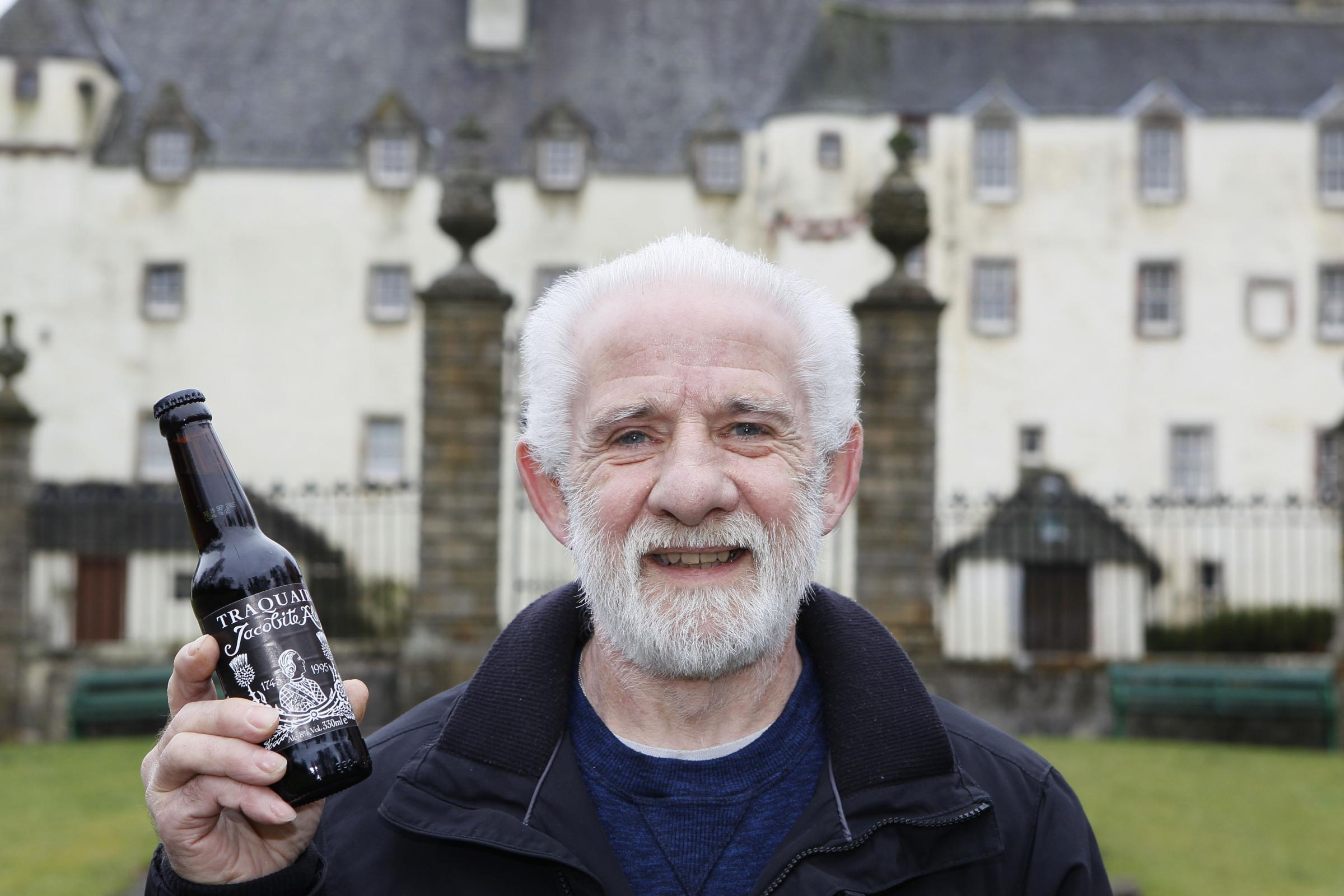 Ian Cameron retires after 45 years at Traquair Brewery (56477178)