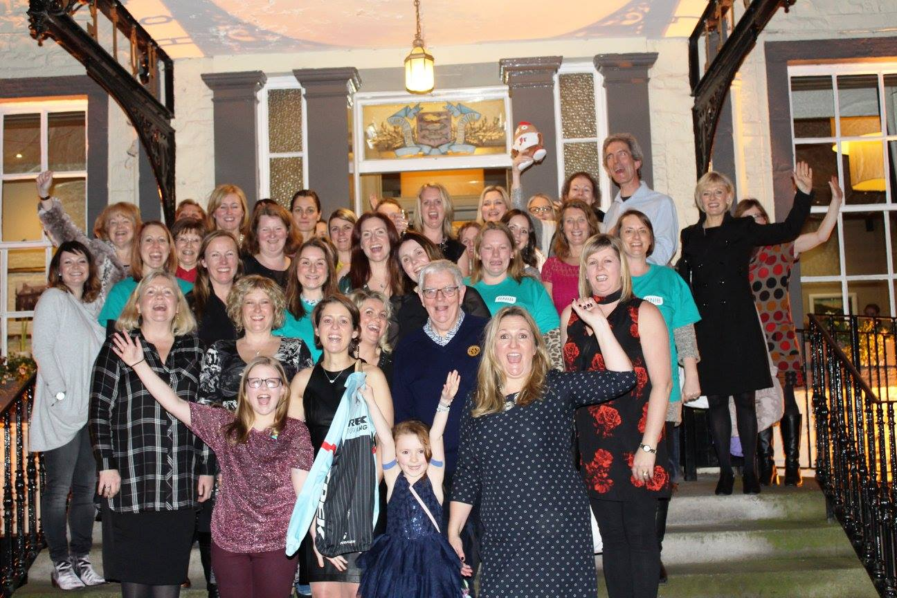 70 guests attended the afternoon tea at the Tontine Hotel last Sunday (January 29) to hear the RNIB's good news