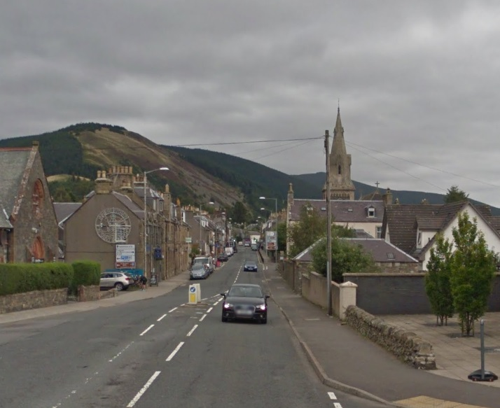Vodafone has rolled out 4G mobile signal across Innerleithen. Photo: Google Maps
