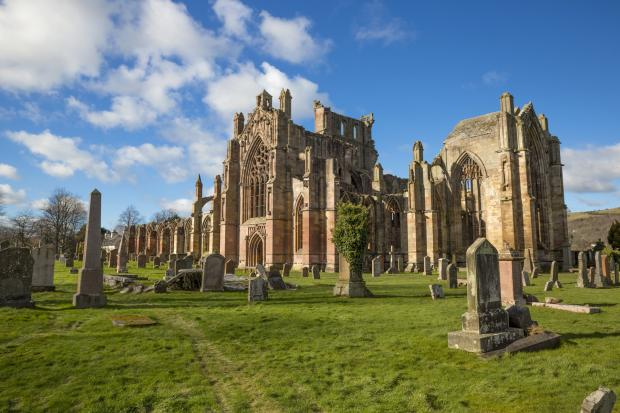 Peeblesshire News: Melrose Abbey remains the most popular paid-for attraction in the Borders