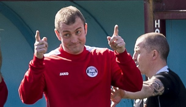 Hawick manager Craig Tully will have three other Borders clubs for company