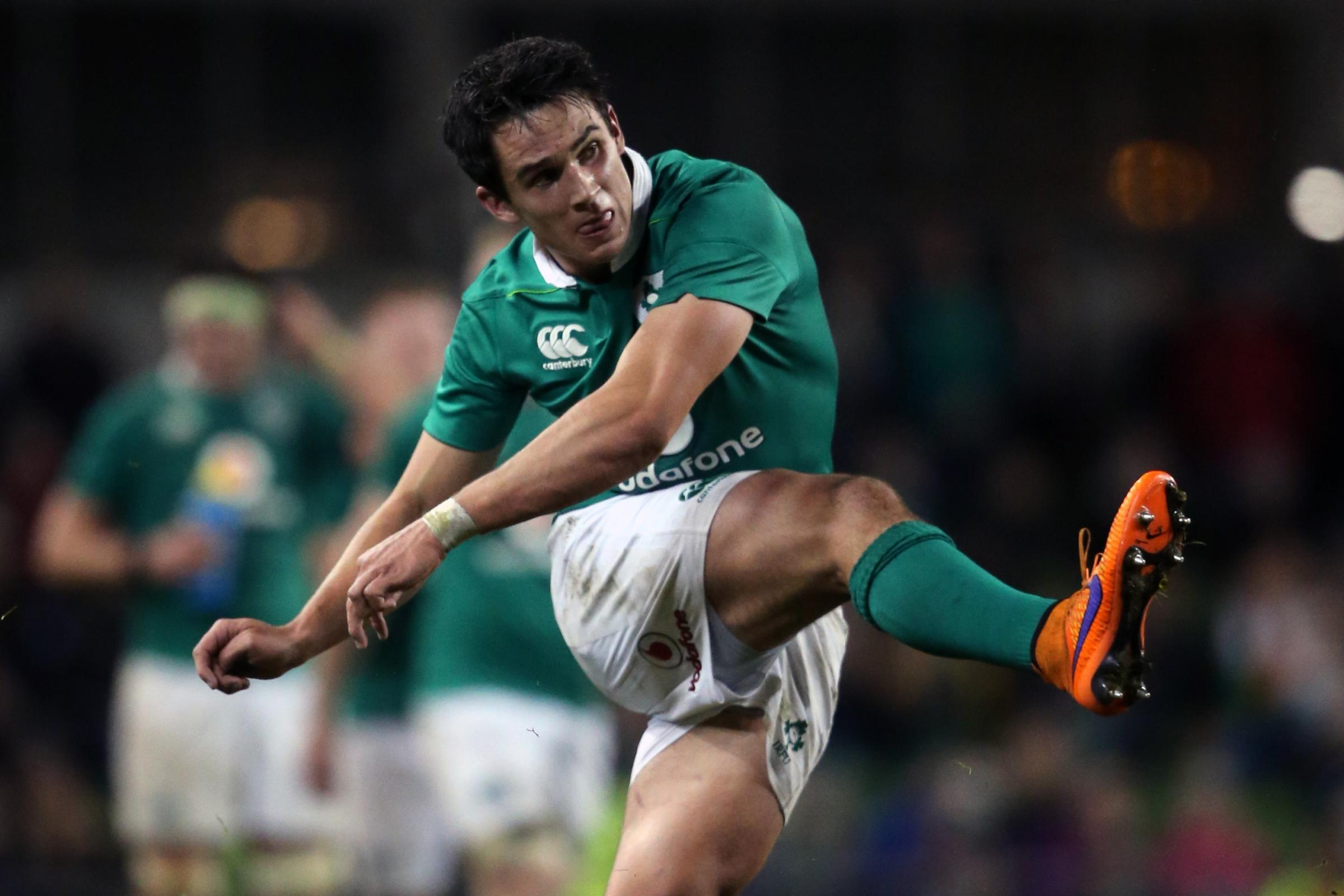 Ireland's Joey Carbery can play at fly-half, scrum-half or full-back (Niall Carson/PA)