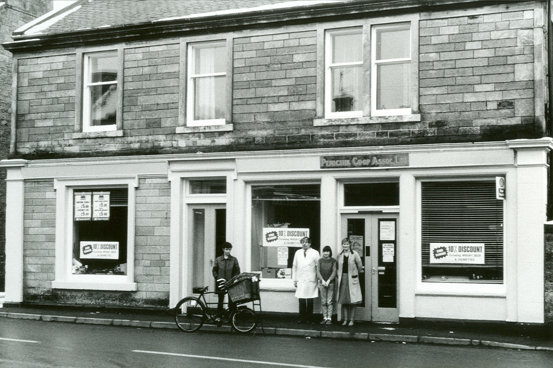Co-op, Main Street c1970