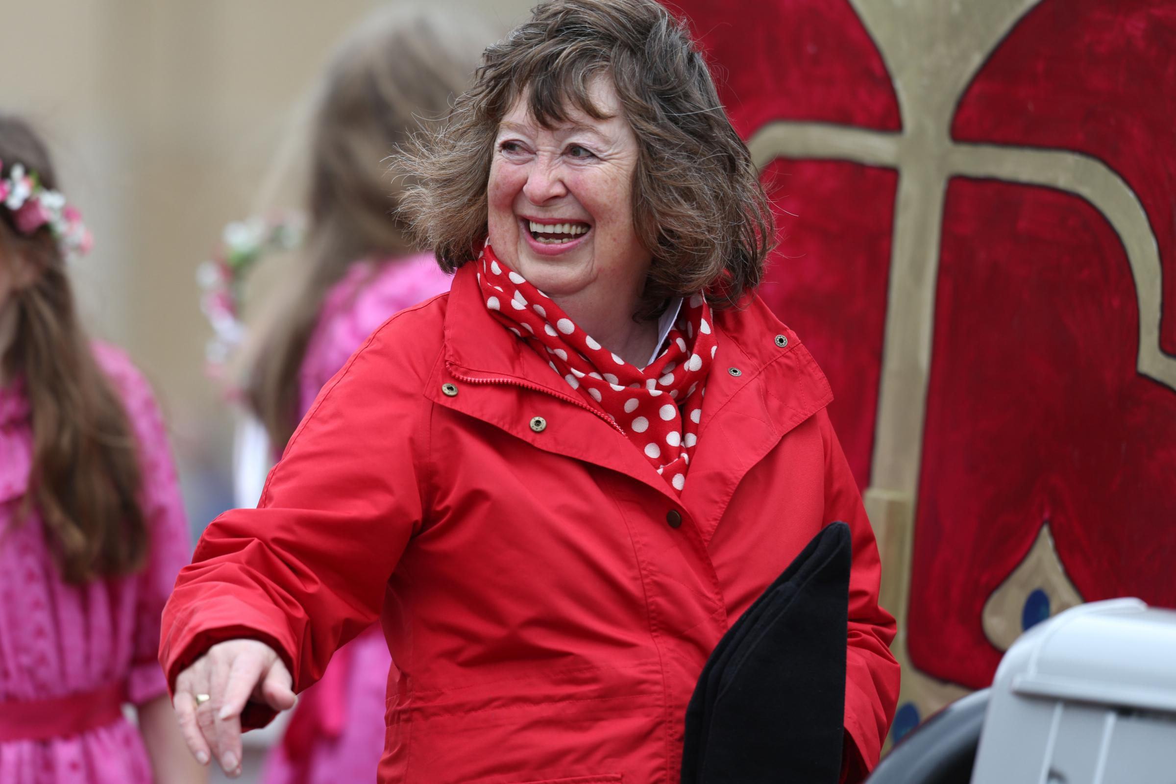 Peebles Community Council secretary Anne Snoddy (pictured) will step down in May. Photo: Helen Barrington
