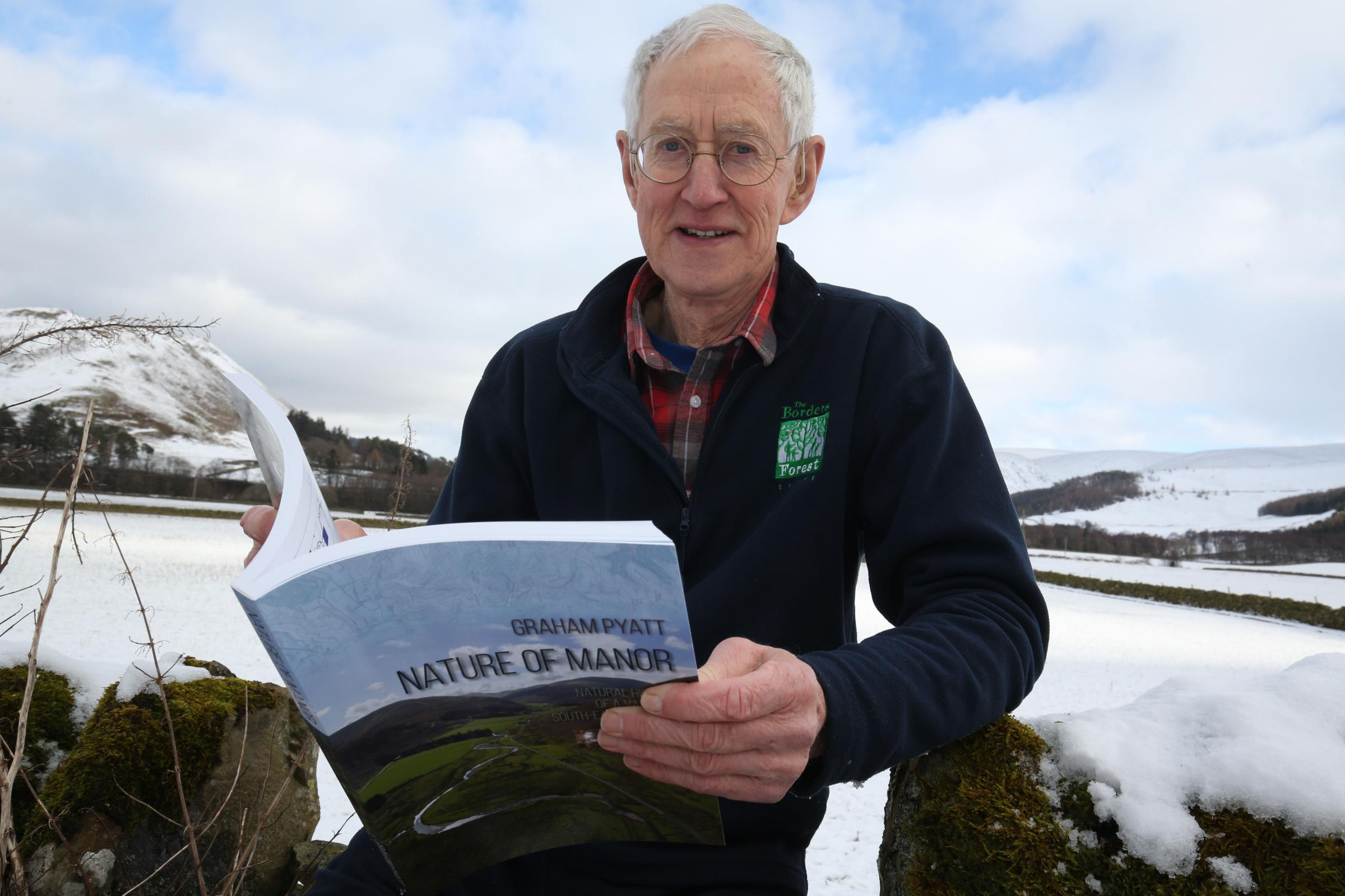 Peebles author Graham Pyatt. Photo by Helen Barrington