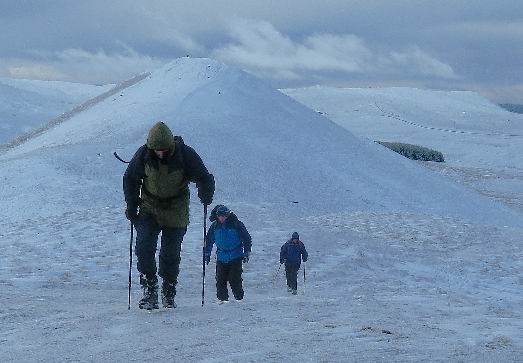 Biggar Ramblers. Photo: John Hart