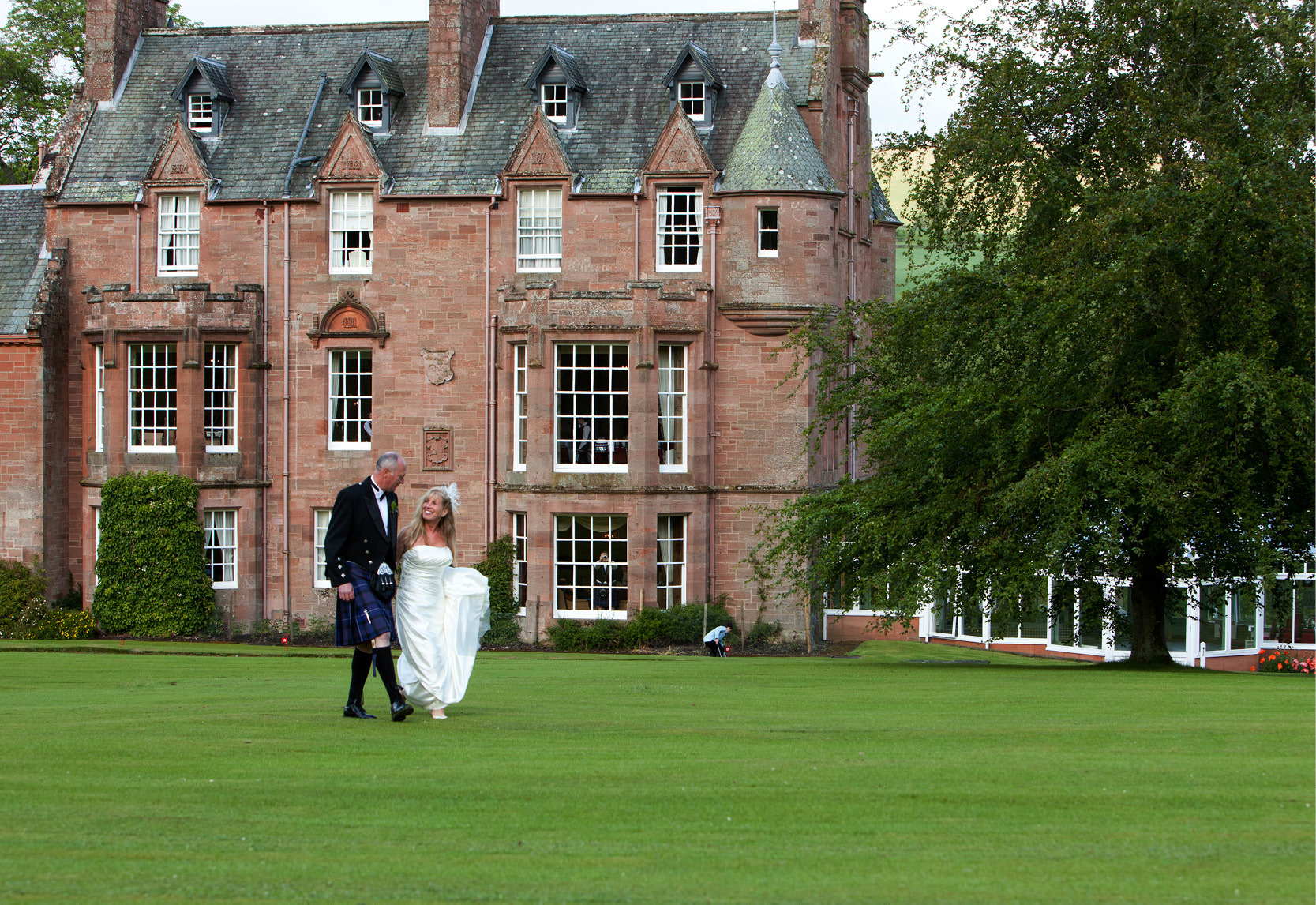 Cringletie House Hotel in Peebles is up for the south east wedding venue of the year
