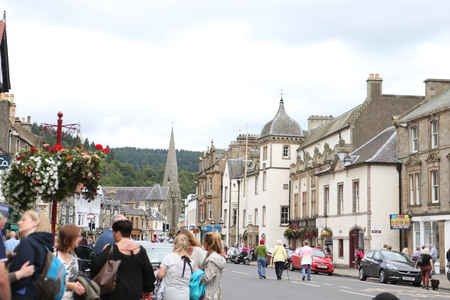 Peebles High Street. Photo: Helen Barrington