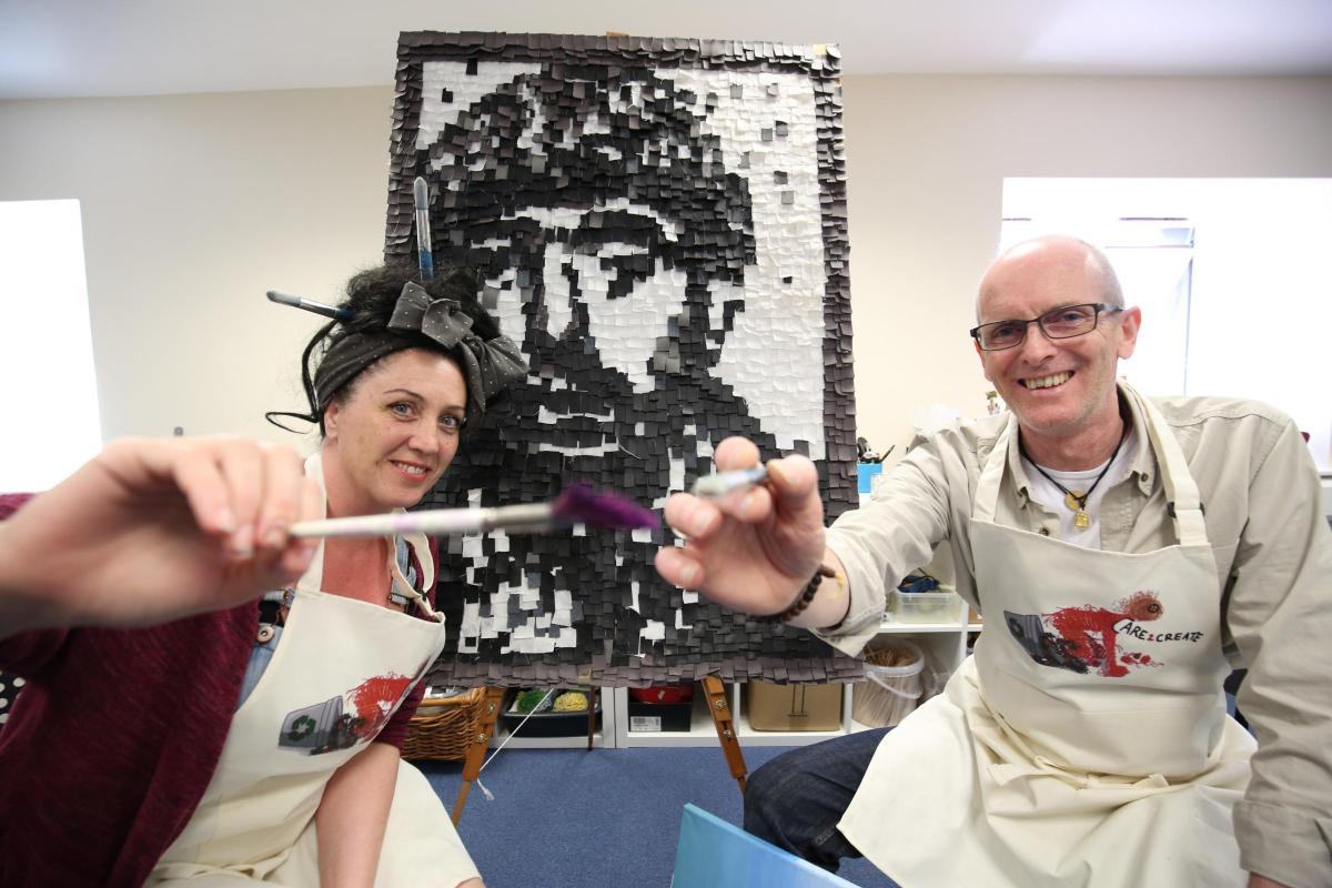 Julie and Phil frame the caring side of art | Peeblesshire News