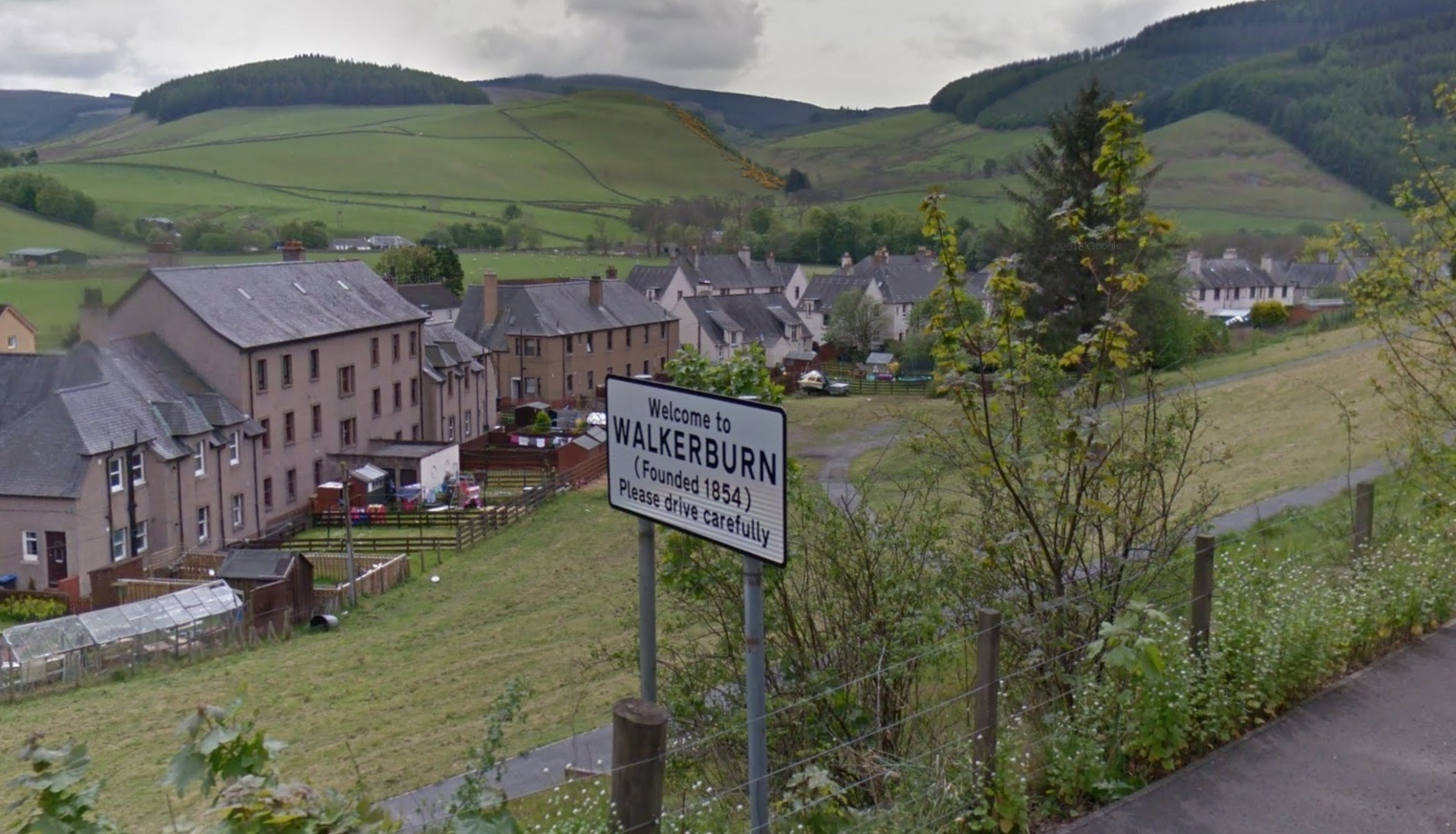 Walkerburn, Scottish Borders. Photo: Google Maps