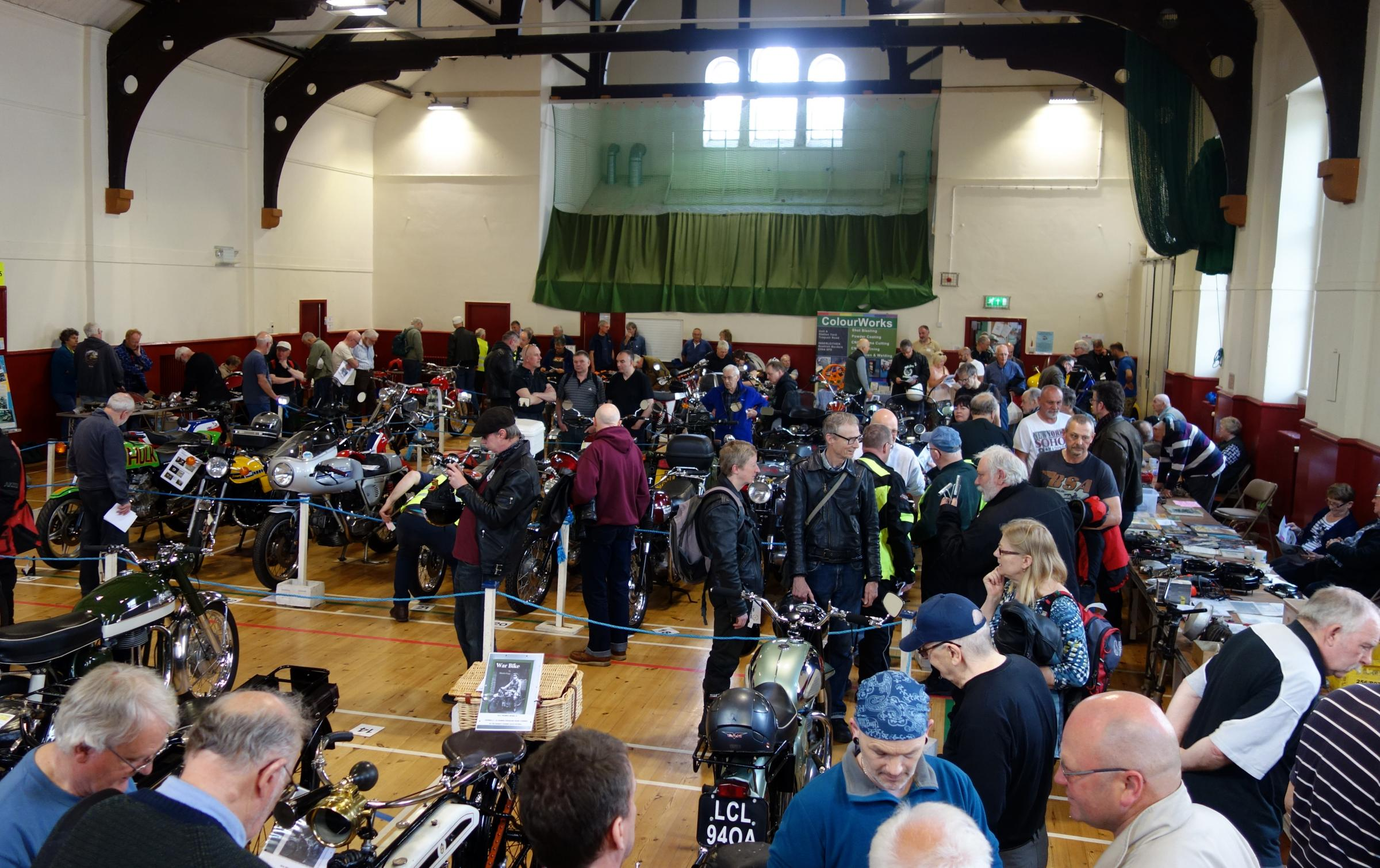 The Lothian and Borders Classic and Vintage Motorcycle Club Show