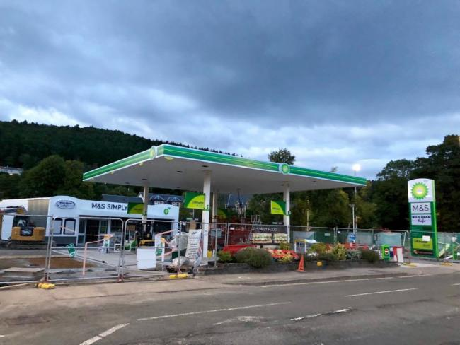 New BP service station with M&S Simply Food store opens in Peebles