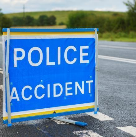A701 crash leads to commuter delays