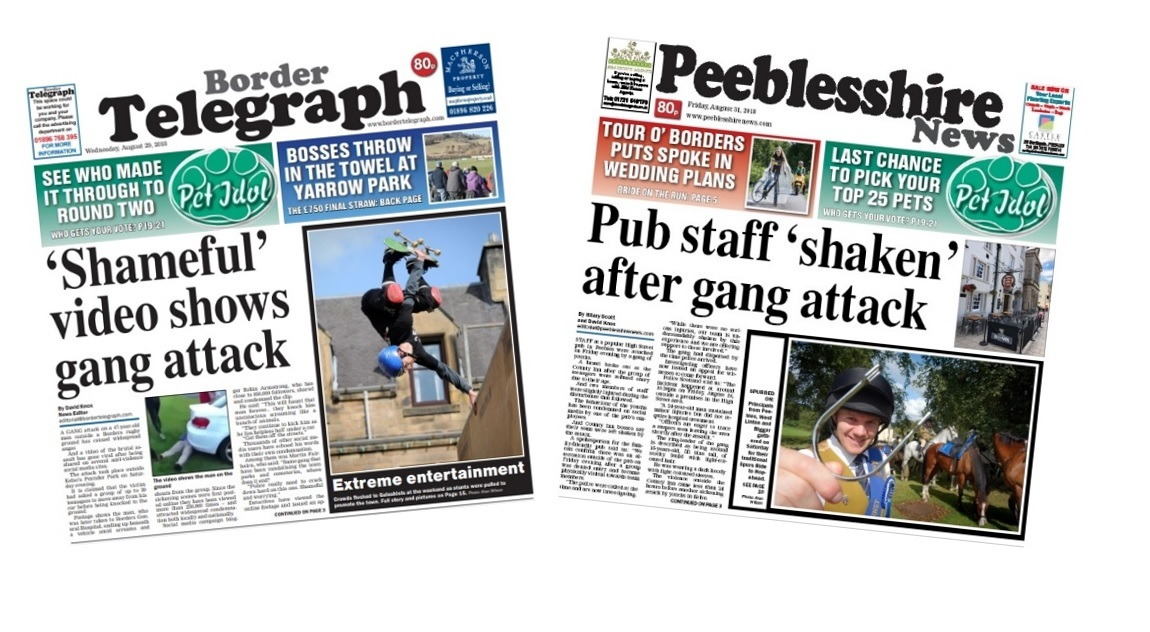 The Border Telegraph and Peeblesshire News is looking for a new reporter to join the team