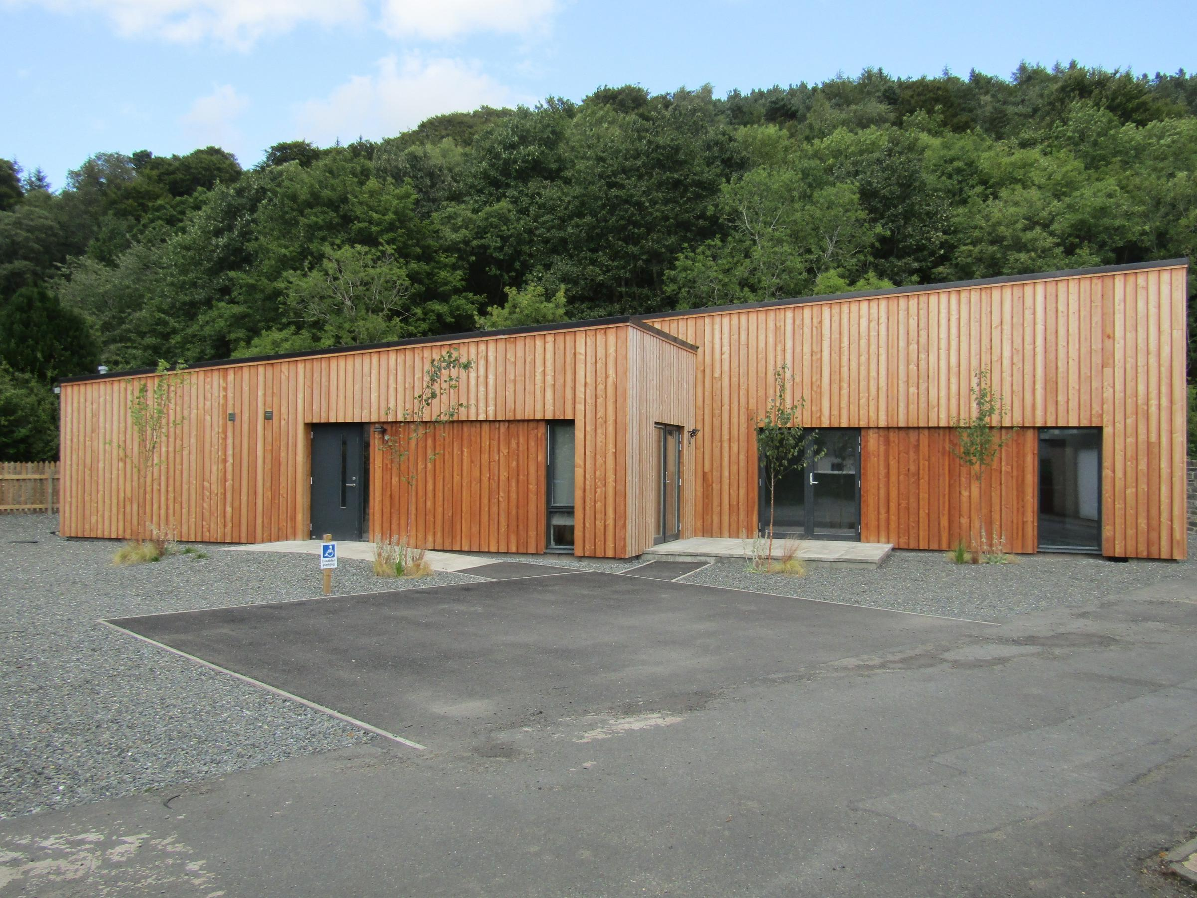 Peebles Scout Group's new hall