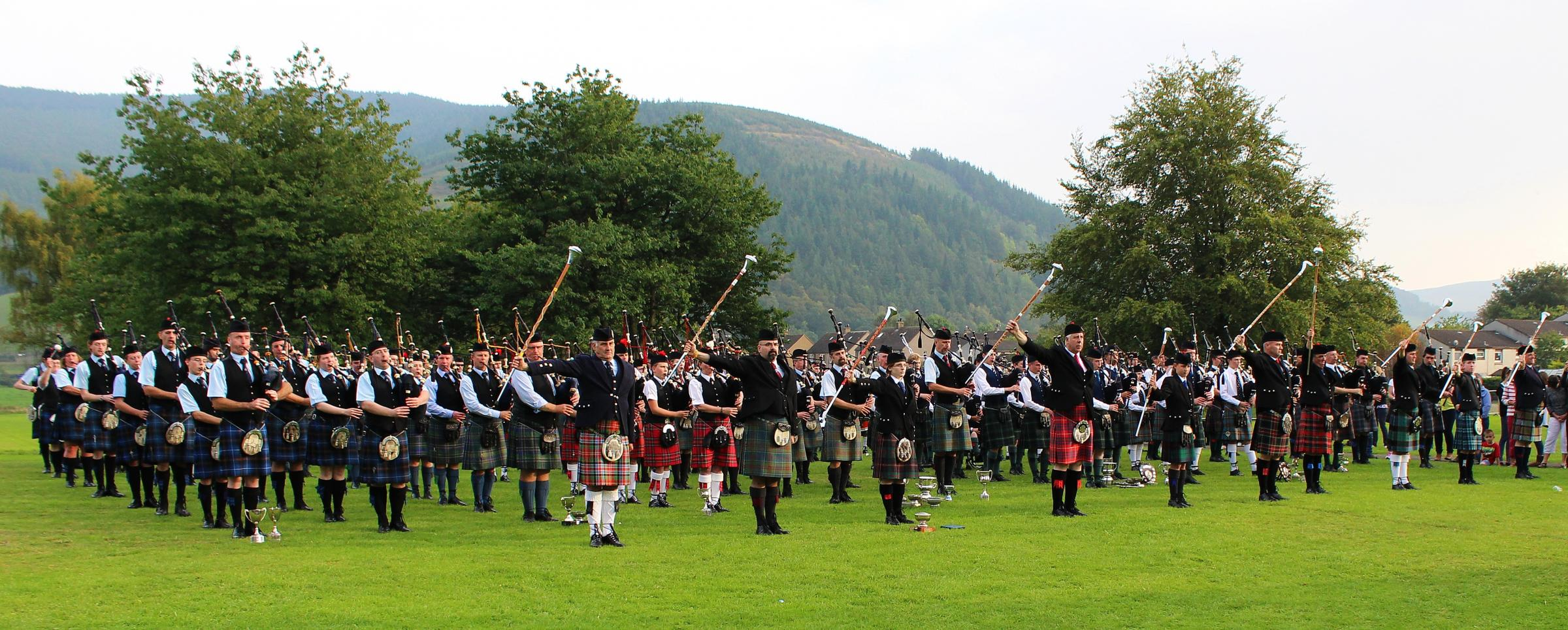 Innerleithen Pipe Band Championships to be held on Saturday