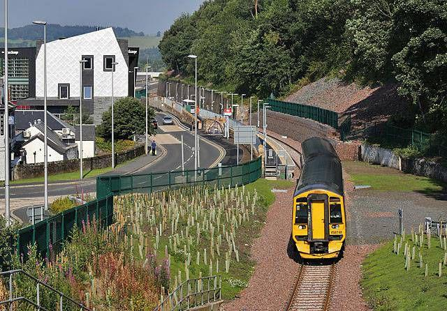 Father and daughter subjected to racist attack on Borders Railway