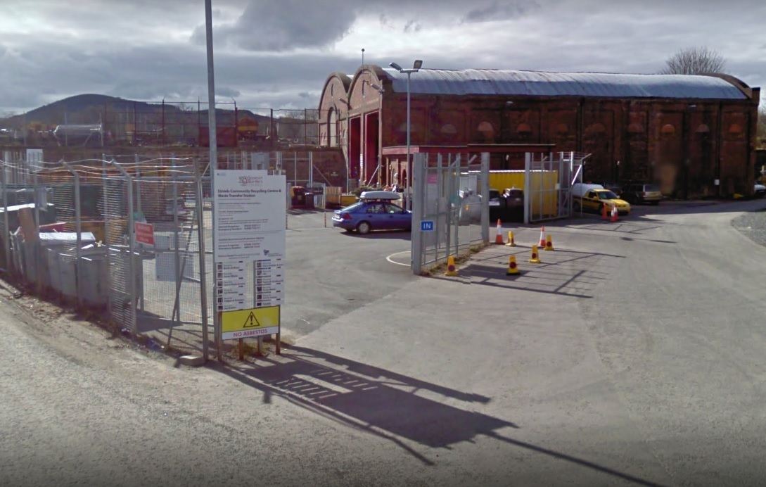Eshiels Recycling Centre. Photo: Google Maps