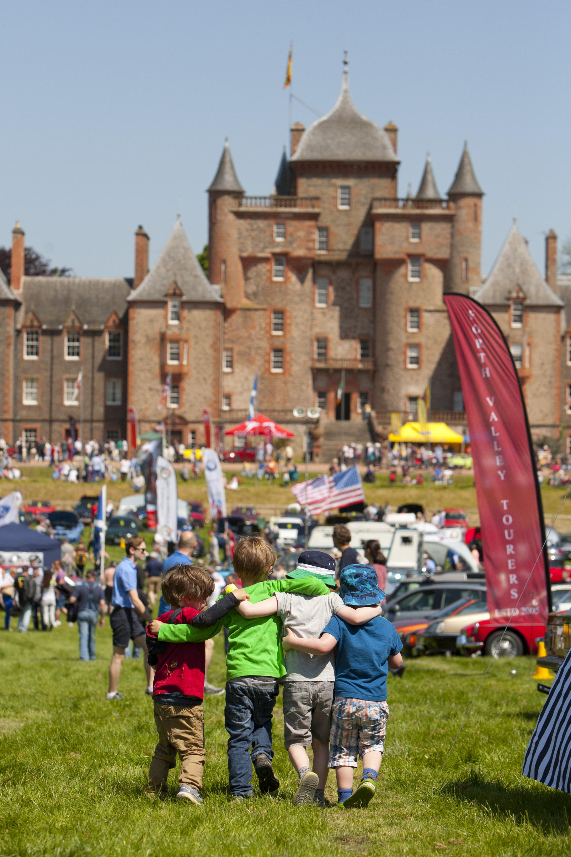 The Historic Motoring Extravaganza is a great day out for all the family.
