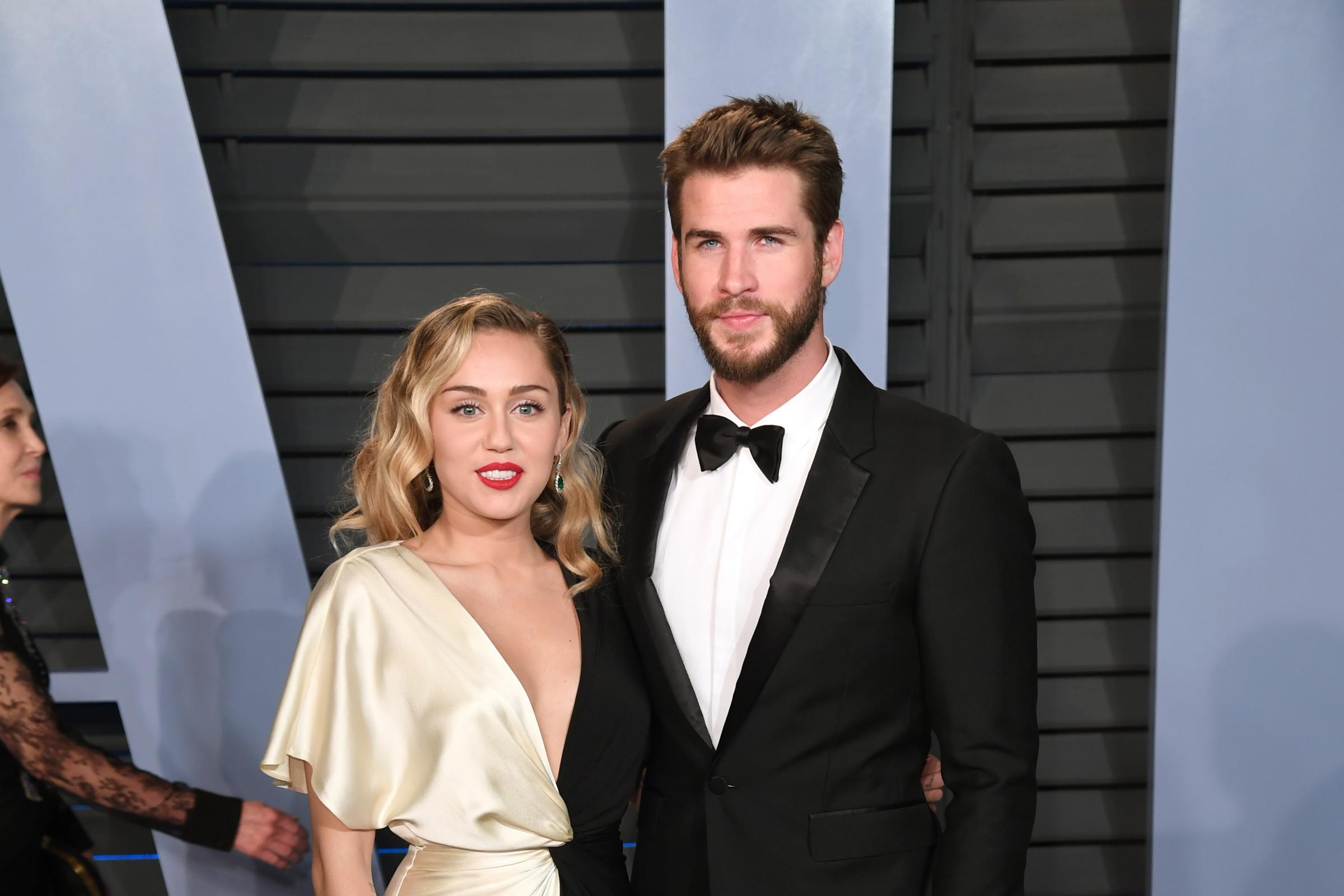 Liam Hemsworth shares picture showing charred remains of Malibu home