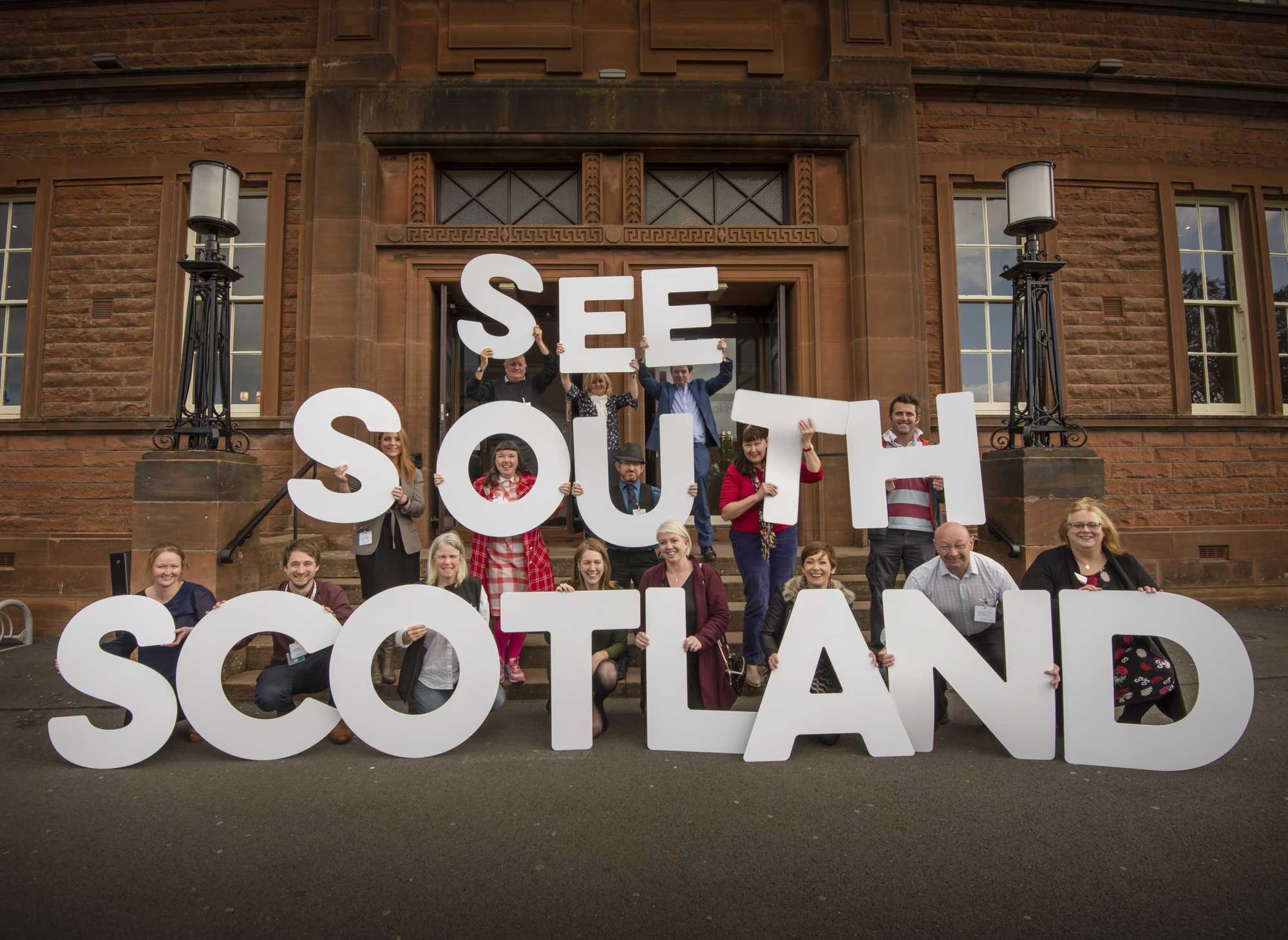 See South Scotland launch event held at Easterbrook Hall in Dumfries.
