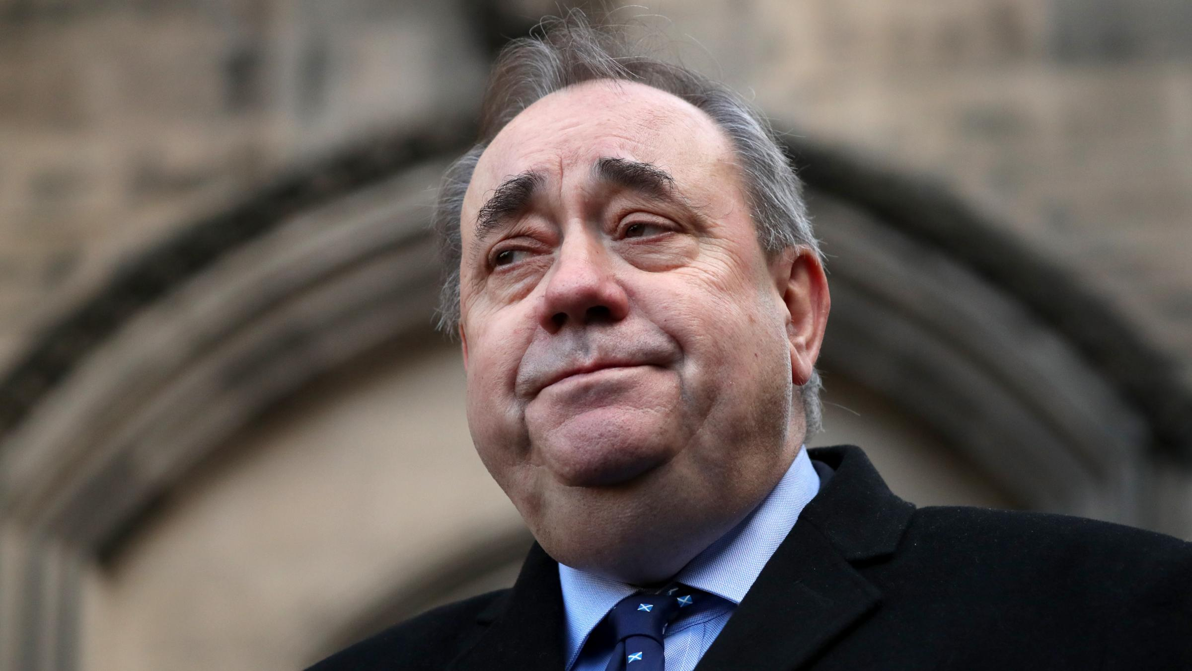 Former Scotland First Minister Alex Salmond arrested and charged
