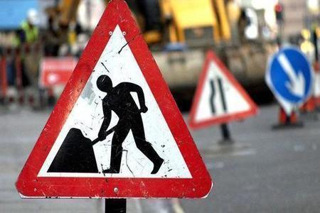 Roadworks are scheduled for Peebles