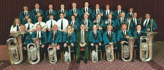 St Ronan's Silver Band's uniform dates back to 1999