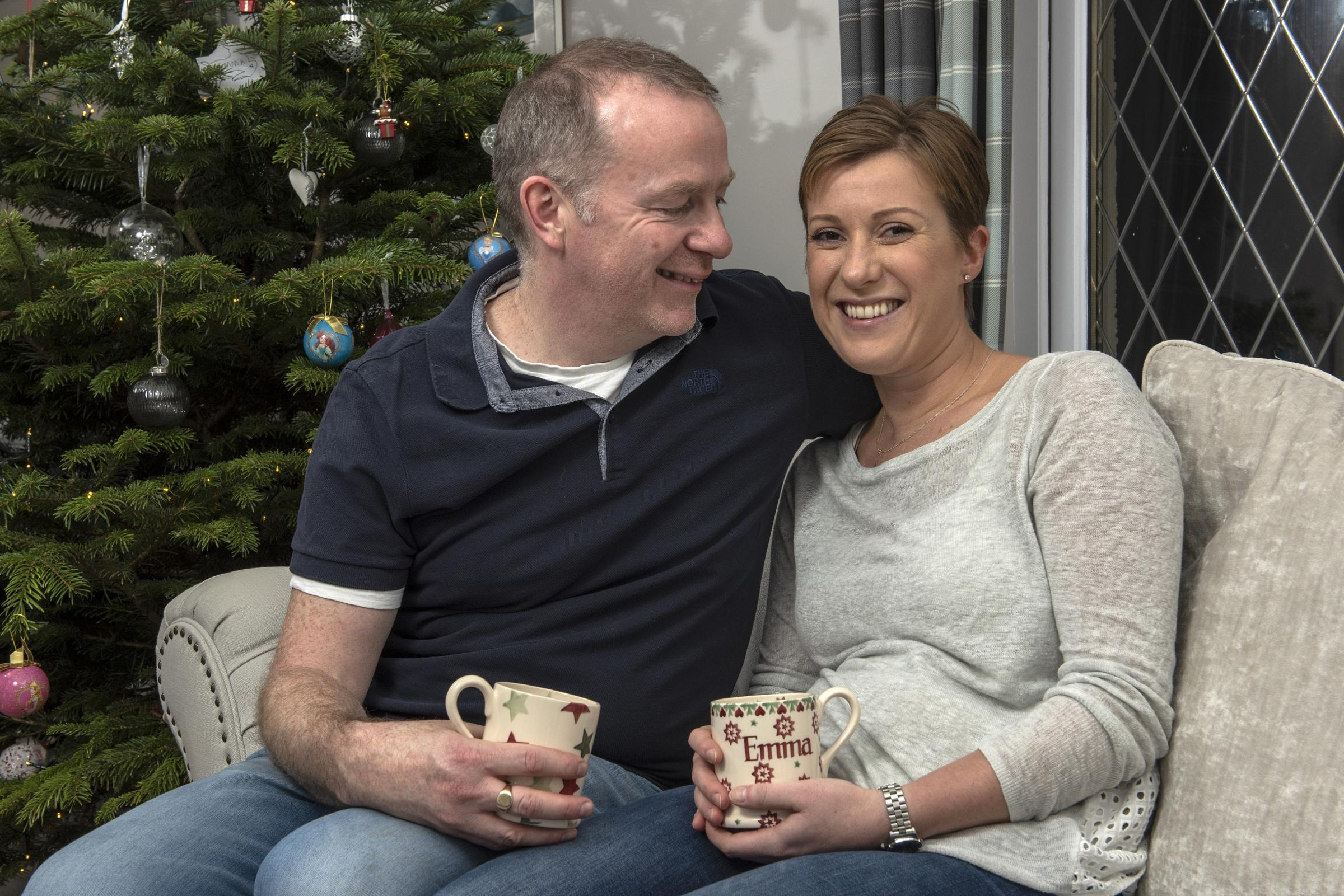 Jonathan Seddon, whose wife Emma was diagnosed with breast cancer in 2017 aged 35, has spoken about what her surviving the disease has meant to him.