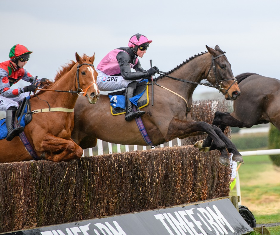 Blue Flight in the Premier Chase