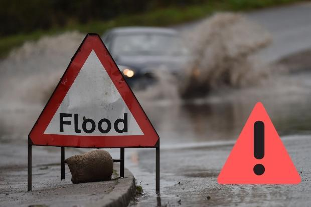 Flood alert issued for Borders as heavy rain expected overnight