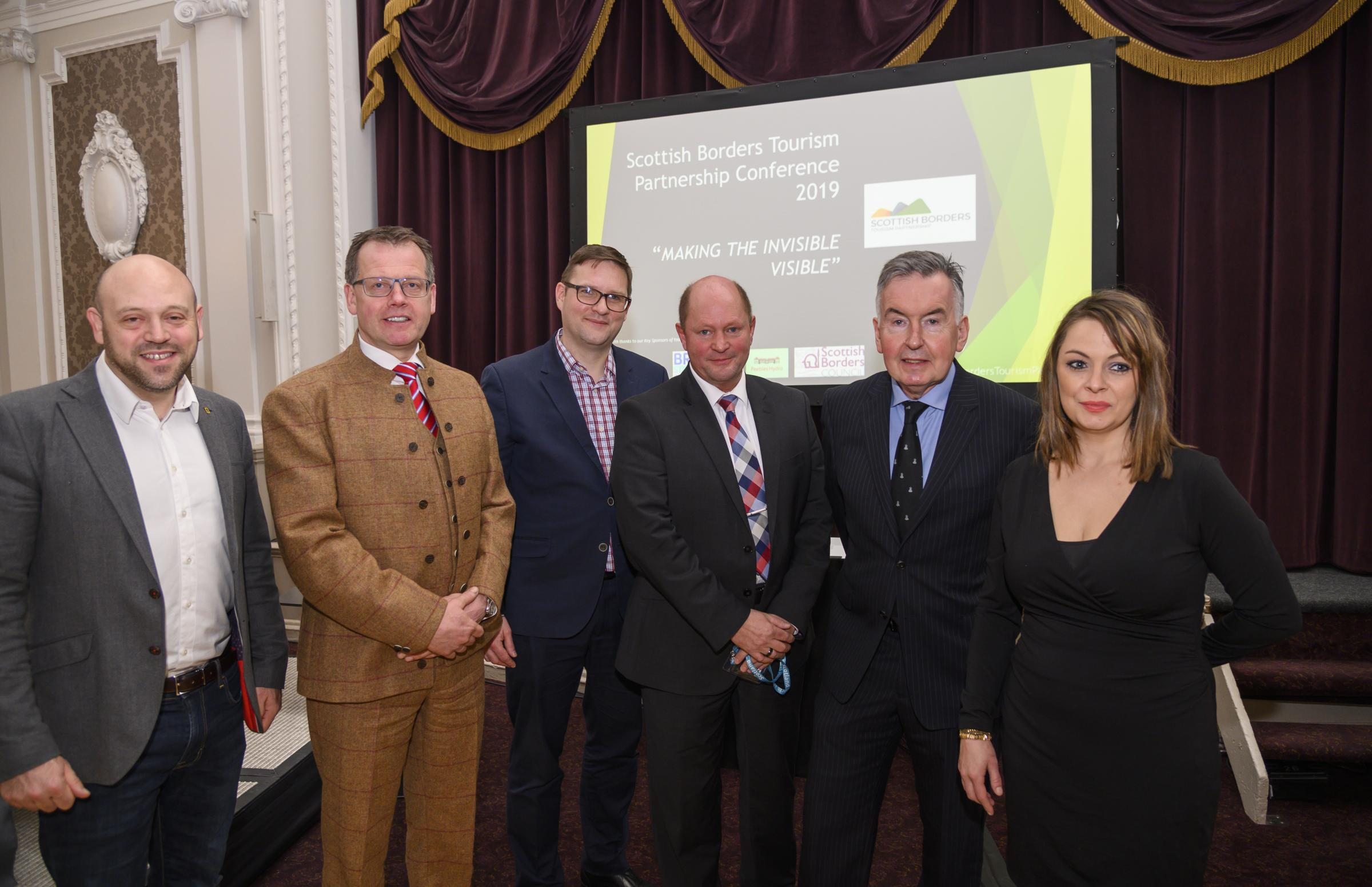 More than 100 businesses attended the tourism conference in Peebles. Photo: Phil Wilkinson